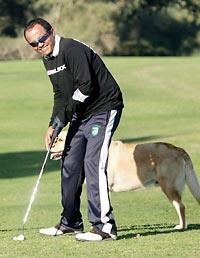 Israeli is world's top blind golfer