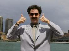Israelis find common language with Borat