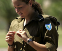 Israel's Peer juggles army service with tennis stardom