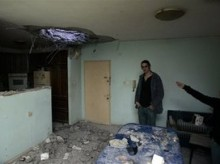 Israeli city shocked as rockets hit
