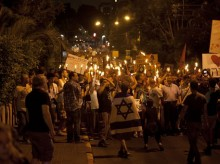 Israel-Gaza violence threatens protest movement