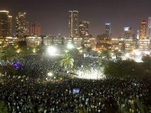 Israelis turn out for largest economic protest