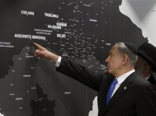 Israeli PM opens historic exhibit at Auschwitz