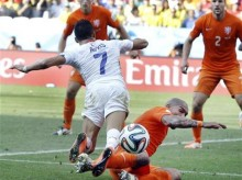 Without Vidal, Chile flat against the Netherlands