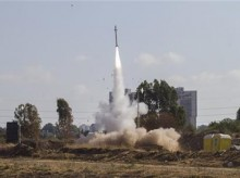 Israeli city in rocket range from both directions