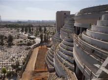 Israel raises the dead with skyward cemetery
