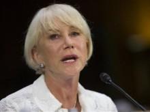 Actress Helen Mirren rejects efforts to boycott Israel