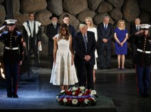 Trump's Yad Vashem visit highlights mixed Holocaust record