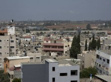 Expansion plan highlights crowded West Bank city's plight