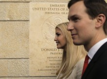 US embassy jubilantly opens in Jerusalem as Gaza rages
