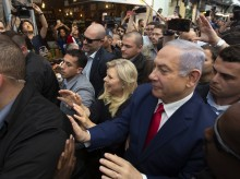 Netanyahu, Gantz make last pitches in tight Israeli election