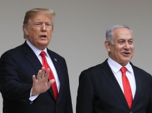 """Netanyahu hopes to """"make history"""" with Trump in White House visit"""